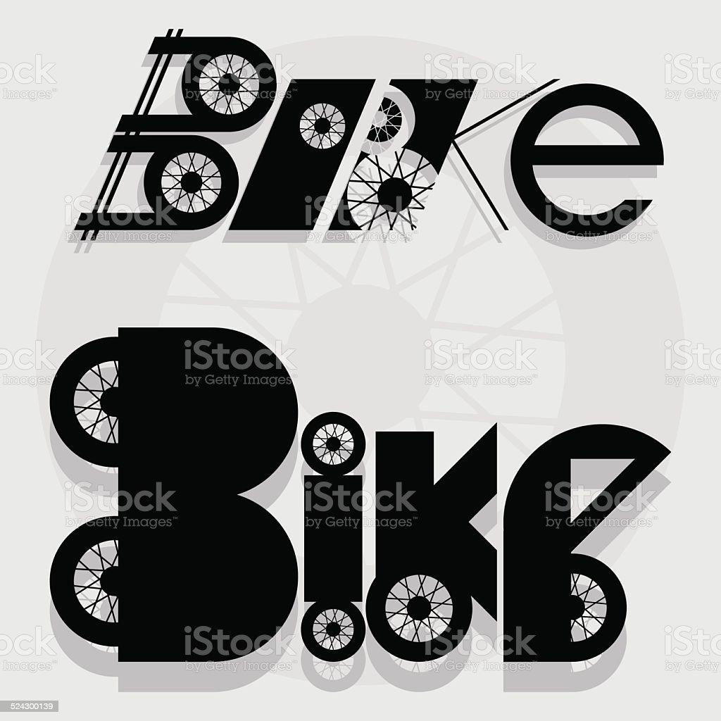 Bike text