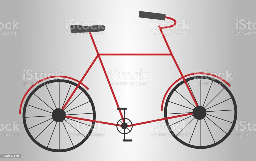 Bike vector art illustration
