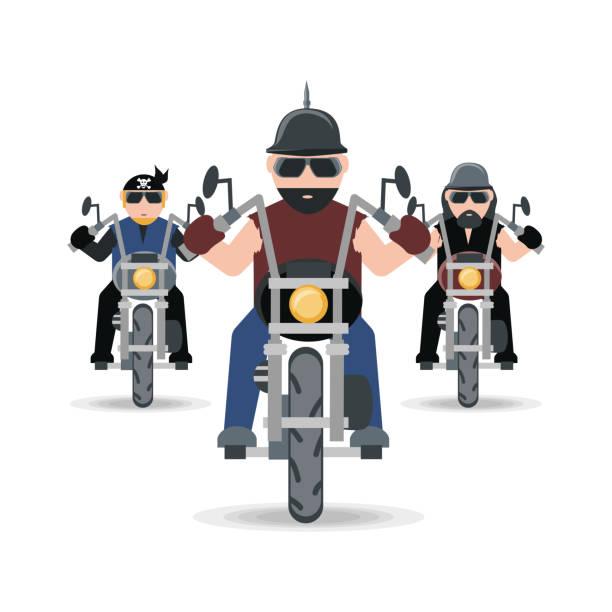 Symbol for the biker club Clipart | k40780762 | Fotosearch |Clipart Biker Gang Sign