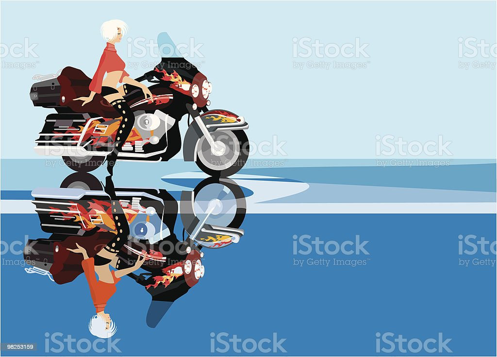 biker girl royalty-free biker girl stock vector art & more images of adult