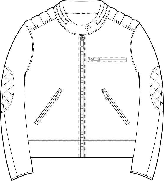 Clip Art Of Jacket Design Template Vector Images Illustrations