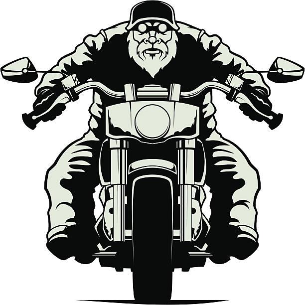 バイカー - オートバイ点のイラスト素材/クリップアート素材/マンガ素材/アイコン素材