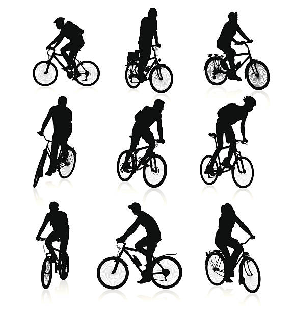 bildbanksillustrationer, clip art samt tecknat material och ikoner med bikers - motorcyklist