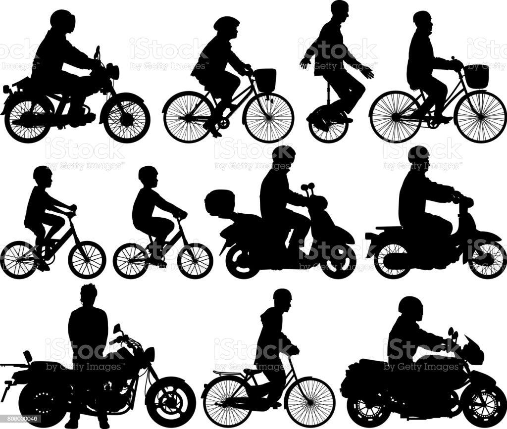 サイクリングマシン ベクターアートイラスト
