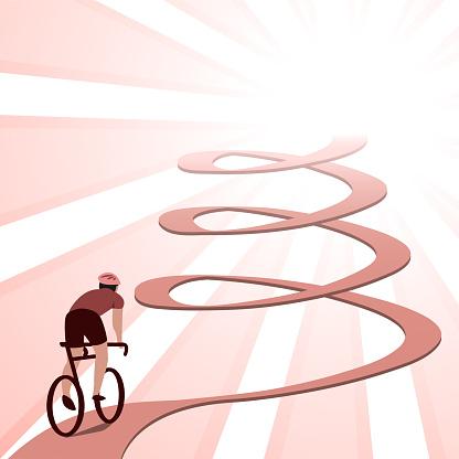Biking Effort Challenge and Accomplishment