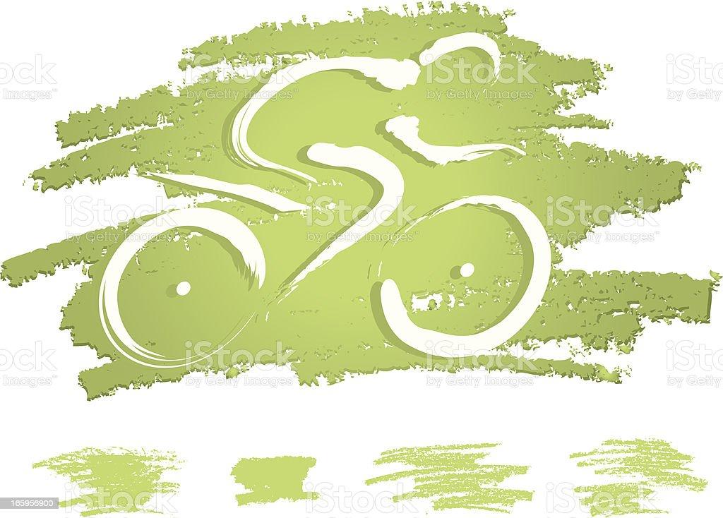 Biking icon royalty-free stock vector art