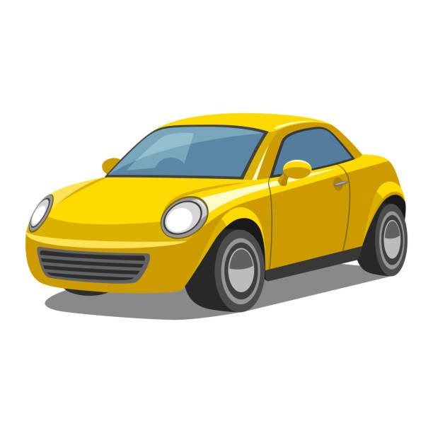 Bil Illustrationen visar en bil bil stock illustrations