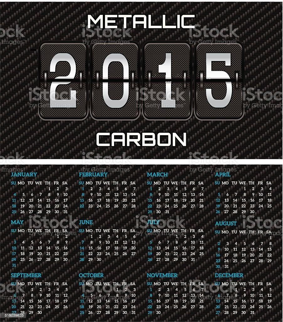 Bilaterale Visitenkarte Mit Kalender Und ökologischen