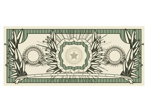 Bill icono aislado de dólar sello de impresión - ilustración de arte vectorial