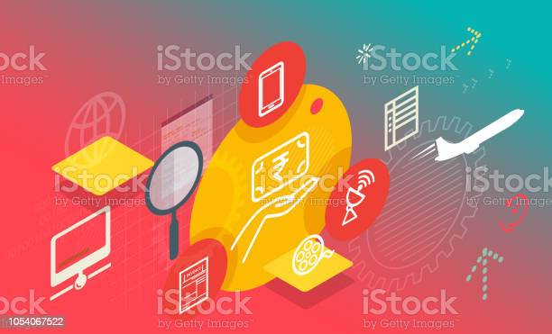 Bill payment and recharge services abstract illustration vector id1054067522?b=1&k=6&m=1054067522&s=612x612&h=9kbavxgthigte fl5ui rq lu5jtgz0edl8g63sxjtg=