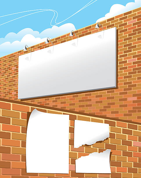 billboard und poster - graffiti schriftarten stock-grafiken, -clipart, -cartoons und -symbole
