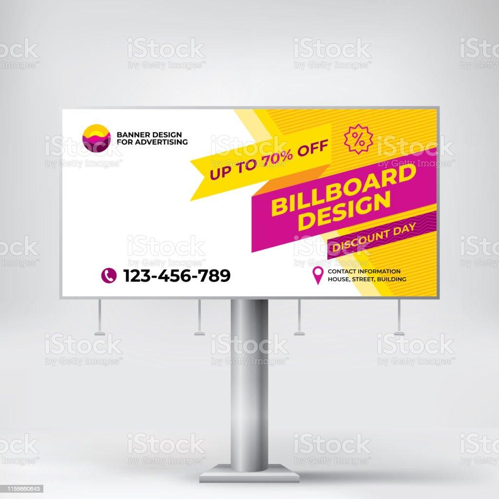 used in street advertising