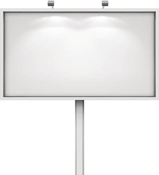 Panneau d'affichage - Illustration vectorielle