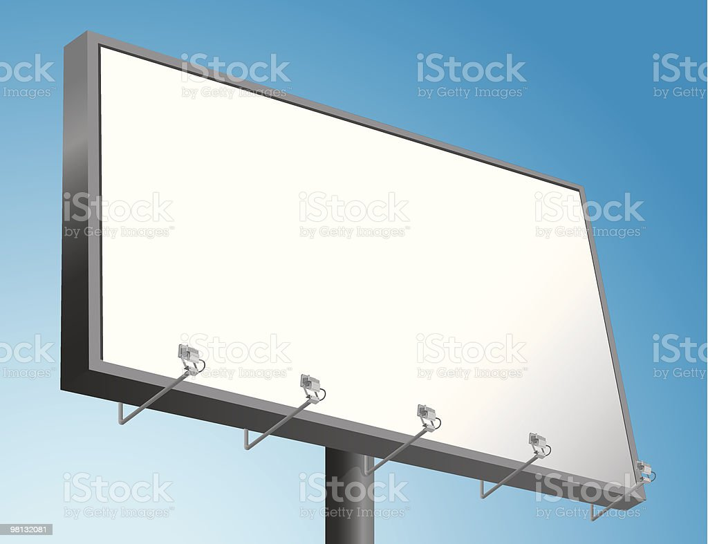Billboard royalty-free billboard stock vector art & more images of advertisement