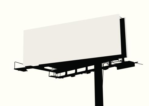 Billboard Vector Silhouette