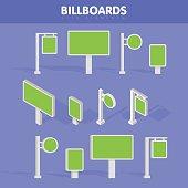 Billboards, advertise billboards, city light billboard.
