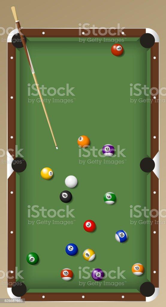 Biliardo Pool Pallina Da Snooker Gioco Da Tavolo Con Segnaletica ...