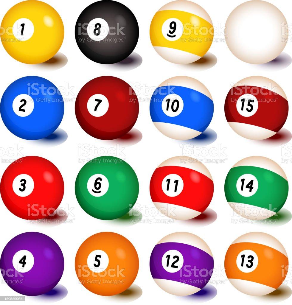 royalty free billiard balls clip art vector images illustrations rh istockphoto com billiards clip art images billiards clipart free vector