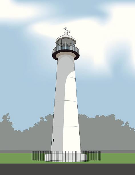 Biloxi Lighthouse Stock Illustration Download Image Now Istock