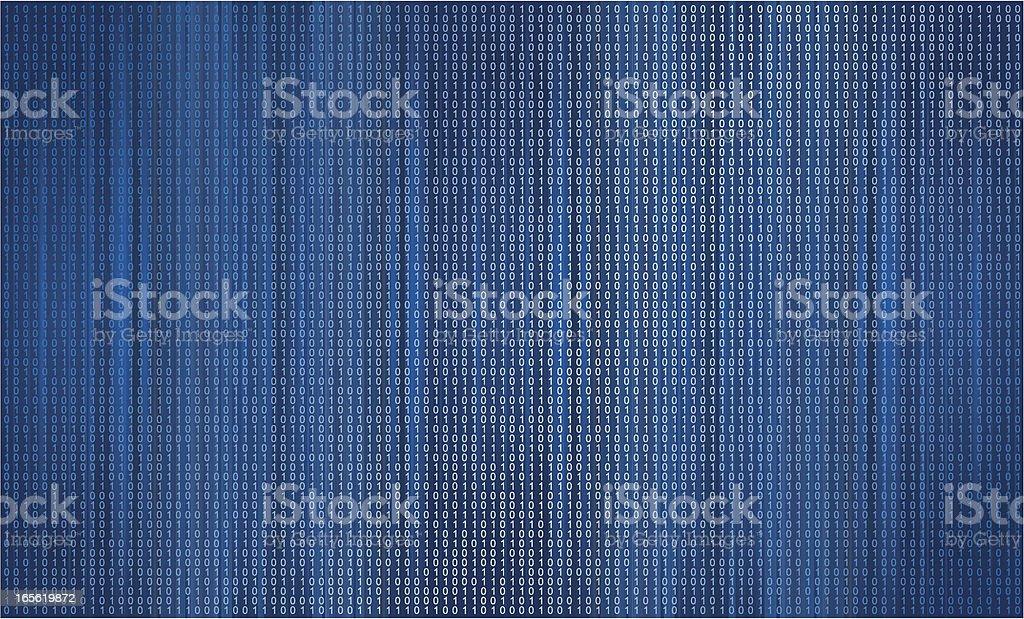 Binary background royalty-free stock vector art