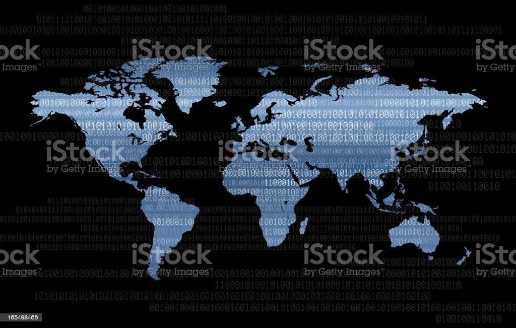 Cdigo binario mapa mundial arte vectorial de stock y ms imgenes cdigo binario mapa mundial cdigo binario mapa mundial arte vectorial de stock y ms imgenes gumiabroncs Image collections