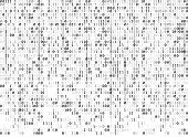 binary codes background seamless pattern