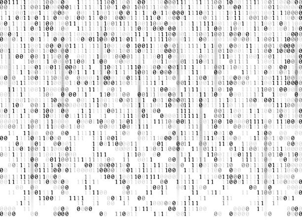 binary codes background - algorithm stock illustrations