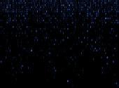 falling binary codes background