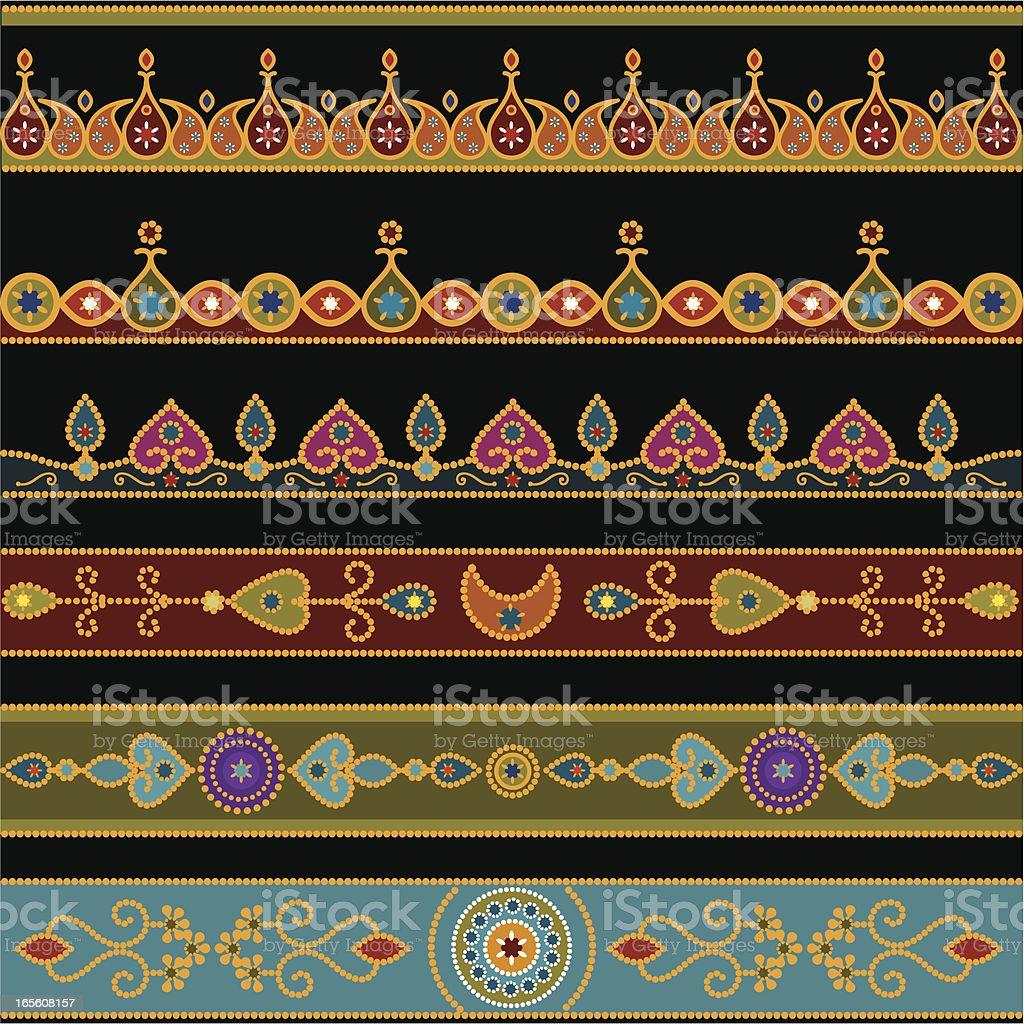 Bindi Border Designs royalty-free bindi border designs stock vector art & more images of bindi