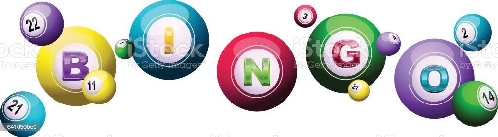 bandera de bingo - ilustración de arte vectorial