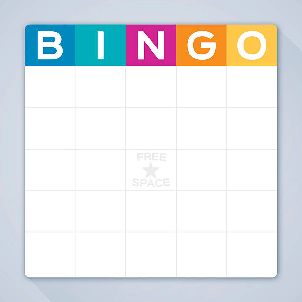 Royalty Free Bingo Card Template Clip Art, Vector Images ...