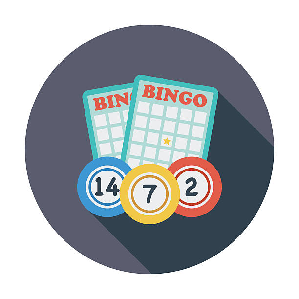 Ícone de Bingo - ilustração de arte em vetor