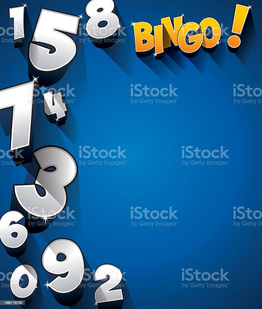 Bingo, Jackpot símbolo - ilustración de arte vectorial