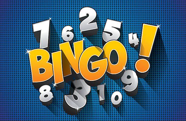 Jackpot Bingo, símbolo - ilustração de arte em vetor