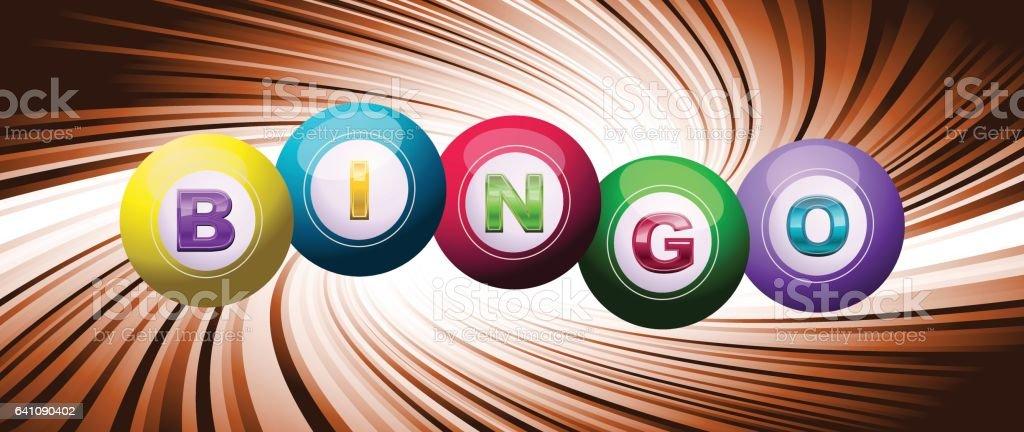El logotipo de bingo - ilustración de arte vectorial