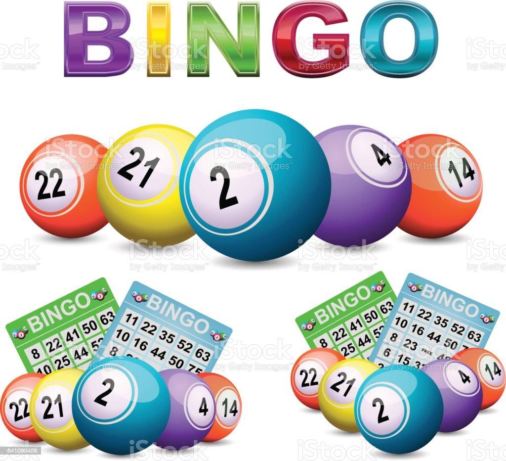 Logotipo do bingo - ilustração de arte em vetor