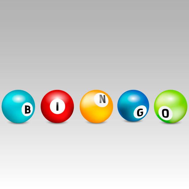Bingo lottery balls. Vector lottery number balls set colorful. Vector illustration. Bingo lottery balls. Vector lottery number balls set colorful. Vector illustration. bonus march stock illustrations