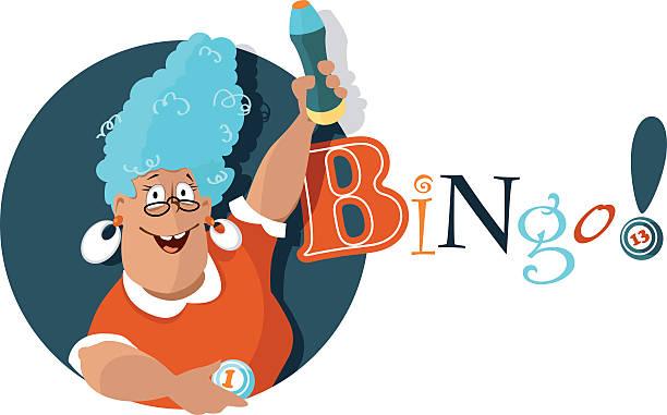 Bingo  - ilustração de arte em vetor