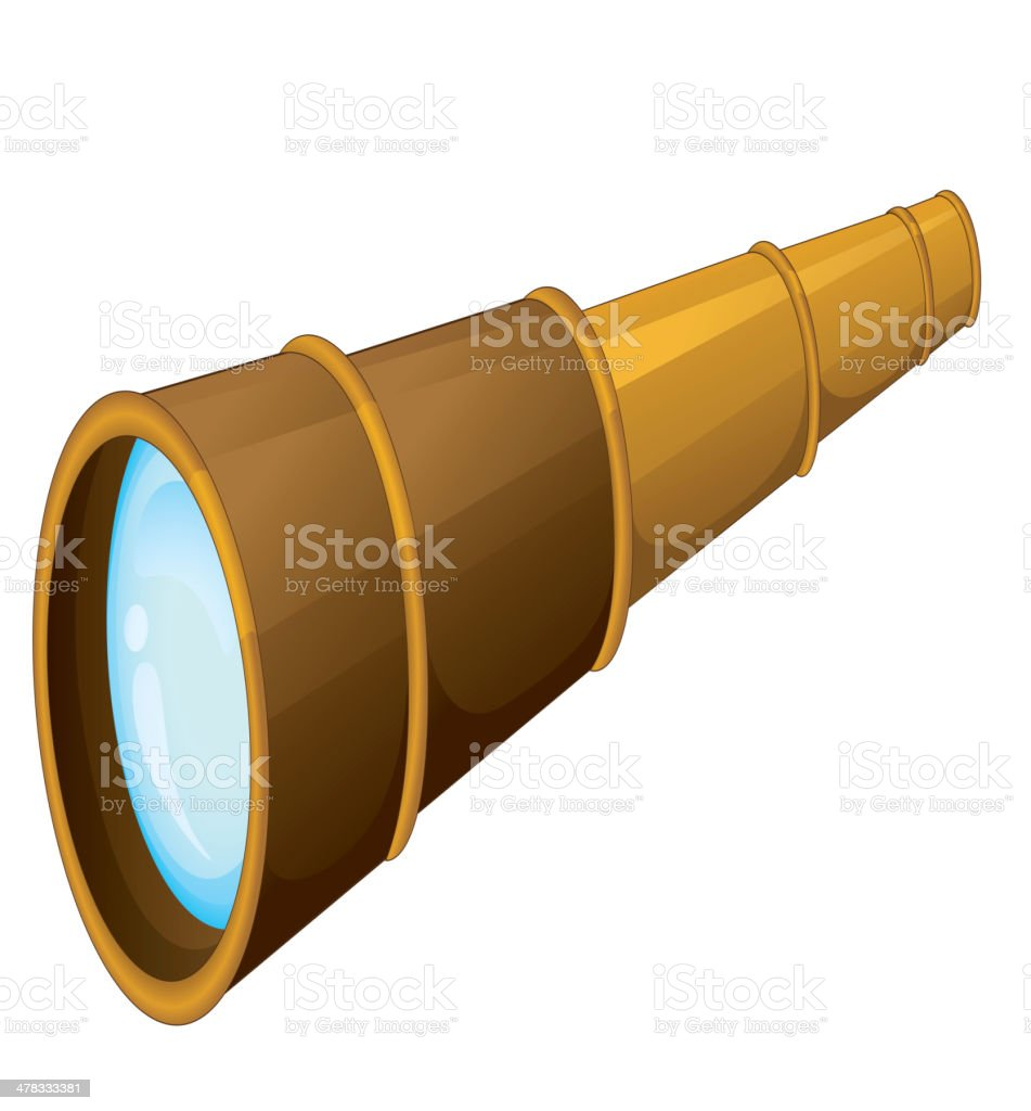 Binocular royalty-free stock vector art