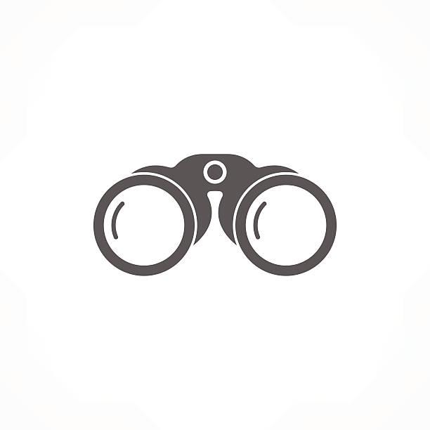 binoculars icon binoculars icon binoculars stock illustrations