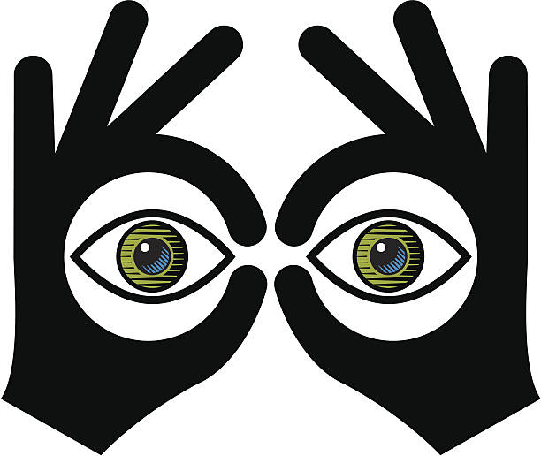 Best Peeking Illustrations, Royalty-Free Vector Graphics ...