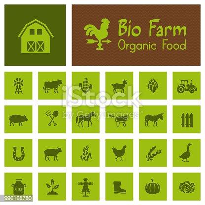 Bio Farm Icons