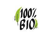Bio Organic Product Icons Vector Illustration Symbol Design Element
