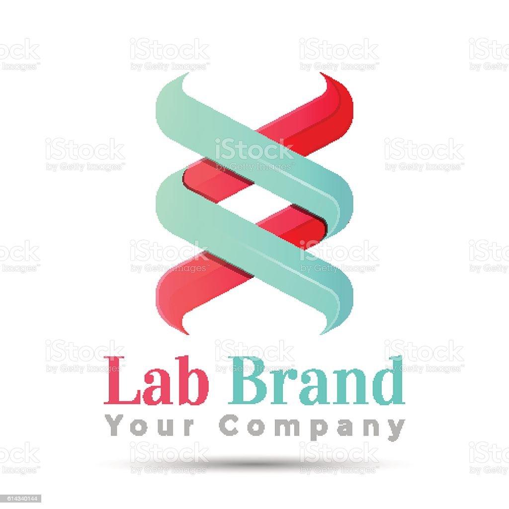 bio technology biology design dna logo template vector business icon