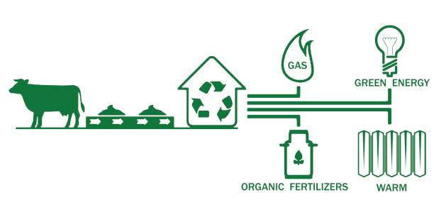 Best Biogas Illustrations Royalty Free Vector Graphics