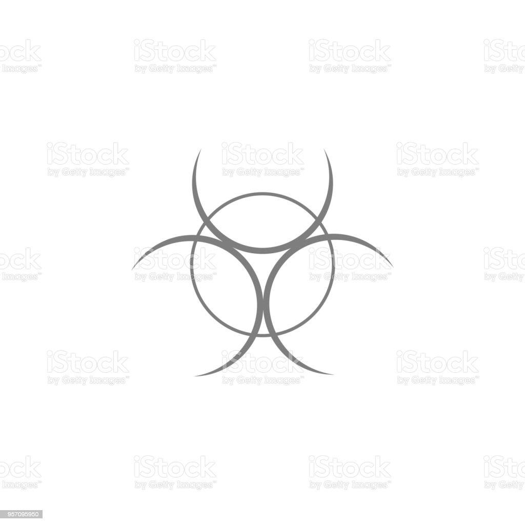 Biohazard Icon Web Icon Premium Quality Graphic Design Signs Outline