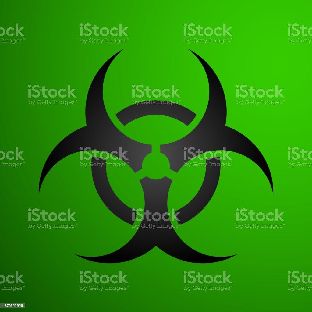 Biohazard Illustration Toxic Sign Symbol Warning Radioactive Zone