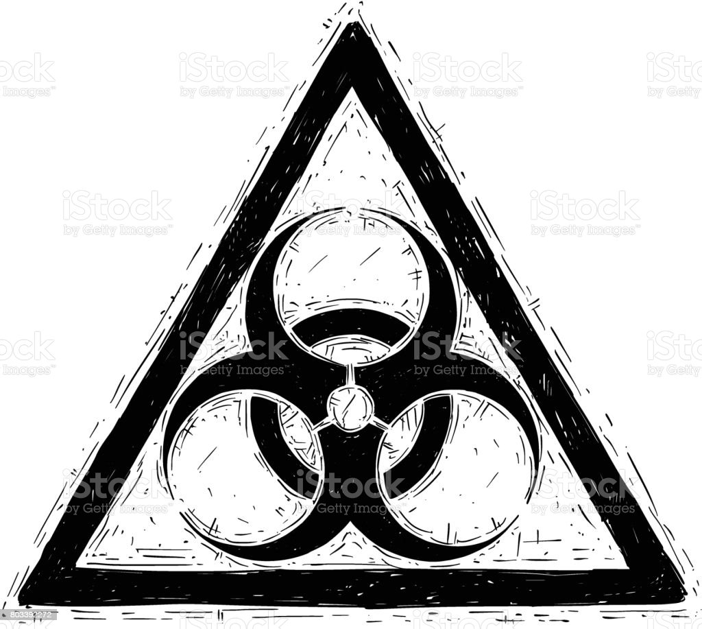 Biohazard symbol sign vector drawing stock vector art more biohazard symbol sign vector drawing royalty free biohazard symbol sign vector drawing stock vector art biocorpaavc Image collections