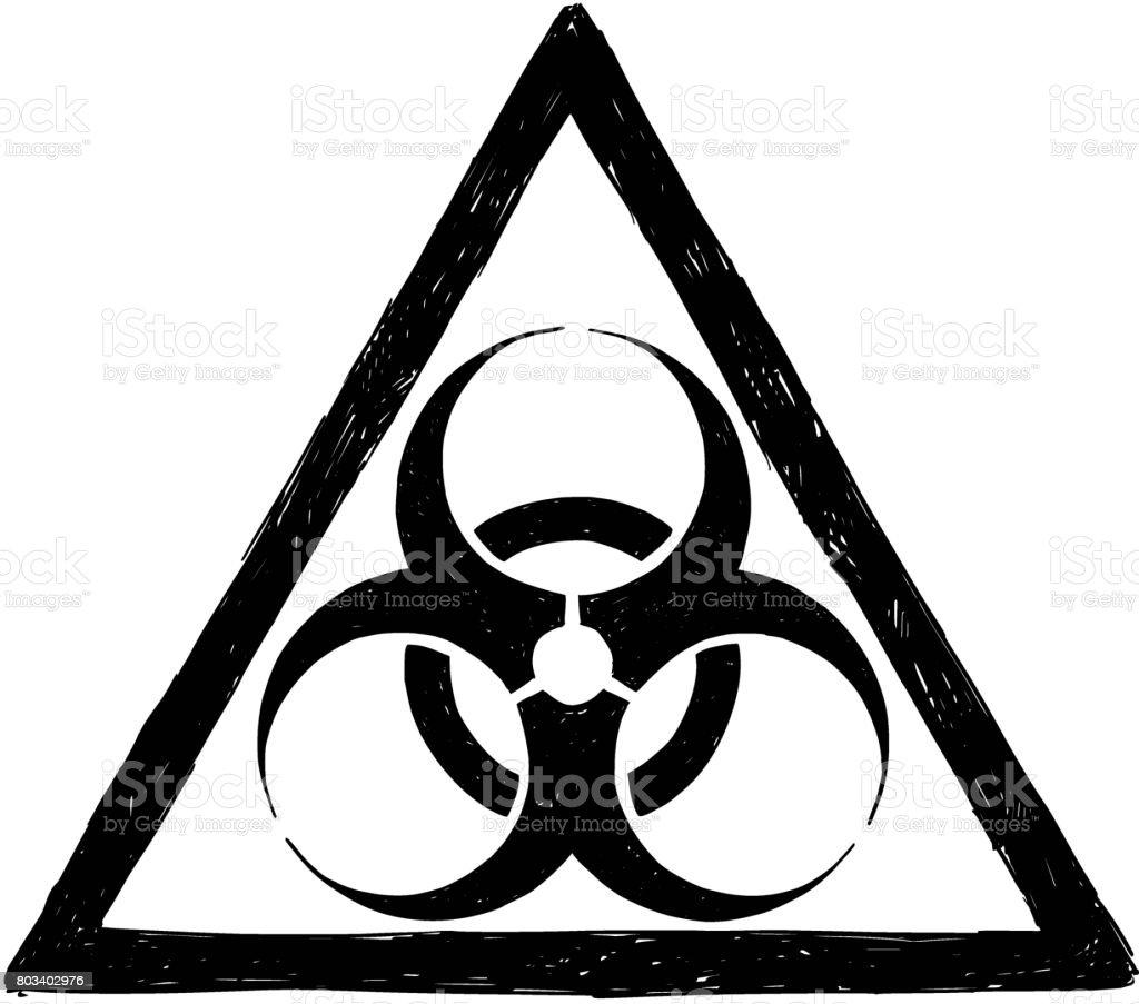 Biohazard symbol sign vector drawing stock vector art more images biohazard symbol sign vector drawing royalty free biohazard symbol sign vector drawing stock vector art biocorpaavc Images