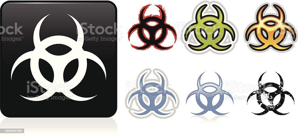 Biohazard Symbol royalty-free stock vector art